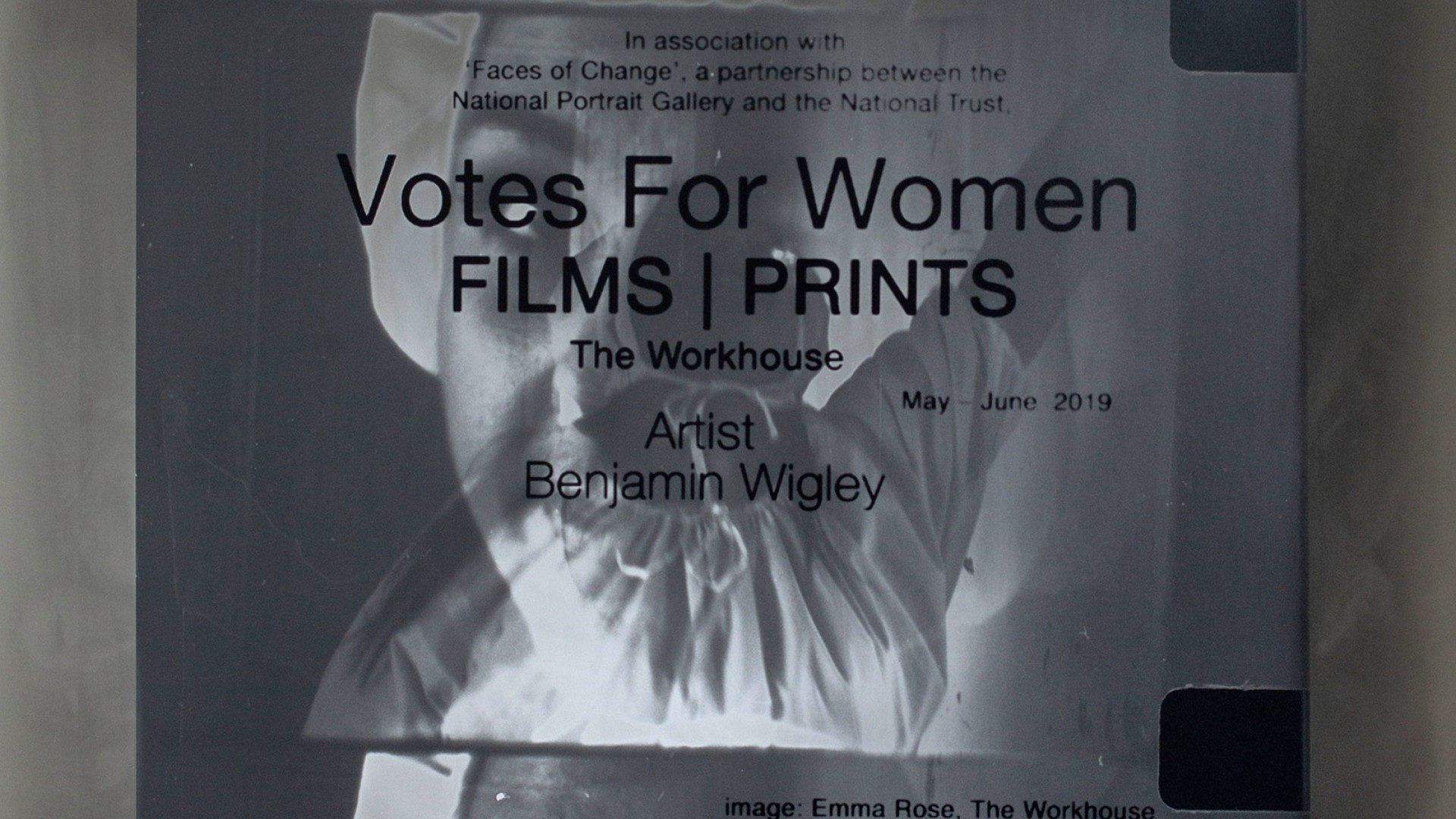 Votes for Women FILM|PRINTS Exhibition